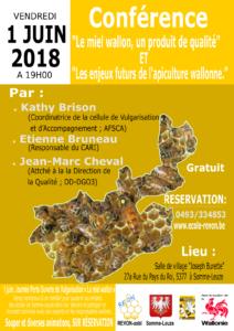 Semaine de l'abeille à Somme-Leuze 2018